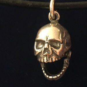 Skeleton Head Necklace
